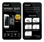 Cloud Tempered Glass iPhone 5 / 5S / SE